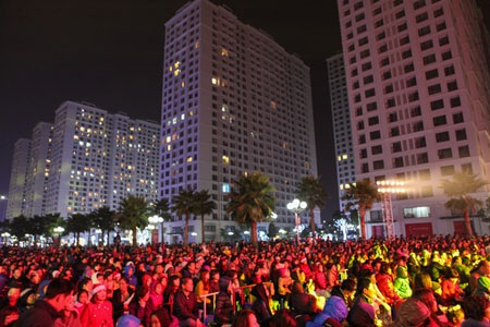 24.000 cư dân Vinhomes Times City hòa chung không khí Đêm hội giáng sinh 2014