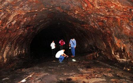 Hệ thống hang động núi lửa lần đầu tiên được phát hiện tại Đăk Nông (Việt Nam), được đánh giá là