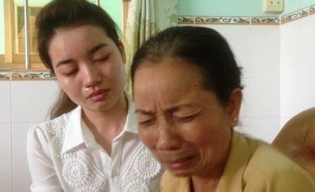 Mẹ và em gái bị cáo Hồ Duy Hải