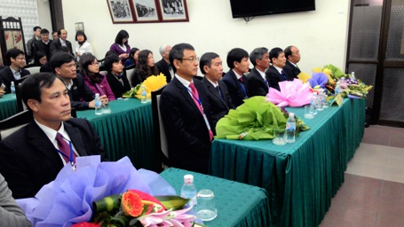 Các thí sinh dự thi Tổng Giám đốc Tổng Cty Quản lý bay Việt Nam.