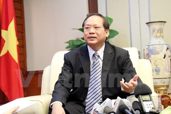 Thứ trưởng Bộ Thông tin và Truyền thông Trương Minh Tuấn. (Ảnh: Vietnam+)