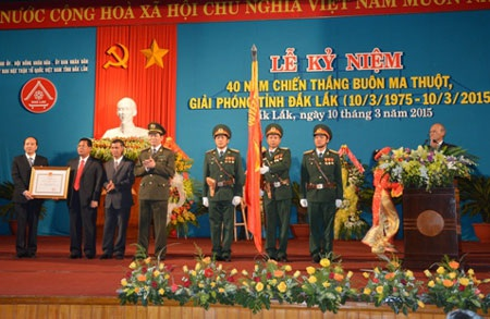 Đắk Lắk vinh dự đón nhận Huân chương Độc lập hạng I