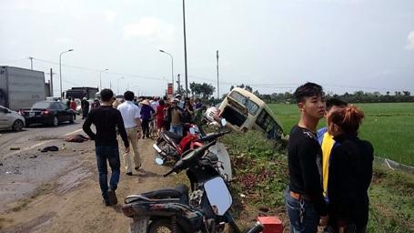 Thủ phạm gián tiếp gây tai nạn là chiếc xe cẩu...