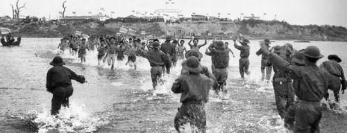 Thoát khỏi ngục tù (sông Thạch Hãn, Quảng Trị, 1973).