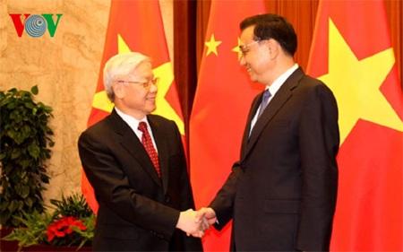 Tổng Bí thư Nguyễn Phú Trọng hội kiến với các nhà lãnh đạo Trung Quốc