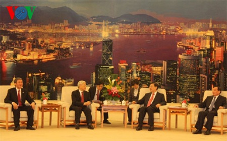 Tổng Bí thư Nguyễn Phú Trọng đã hội kiến với đồng chí Trương Đức Giang