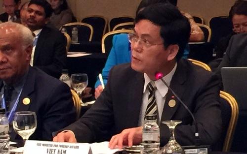 Thứ trưởng Hà Kim Ngọc phát biểu tại Hội nghị