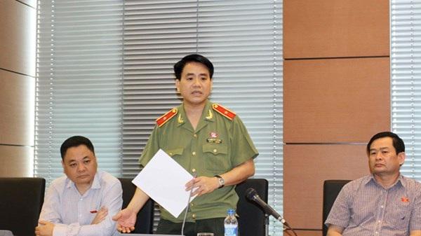 Giám đốc Công an thành phố Hà Nội Nguyễn Đức Chung. Ảnh: Như Ý