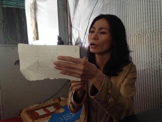 Bà Ngọt người tự nhận số tiền 5 triệu yen là của chồng mình.