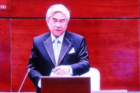 Bộ trưởng Nguyễn Quân: Đề tài xếp ngăn kéo cũng có nhiều loại.