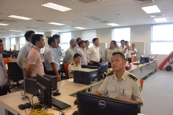 Bộ trưởng Đinh La Thăng yêu cầu tăng cường giám sát ra vào của người và phương tiện