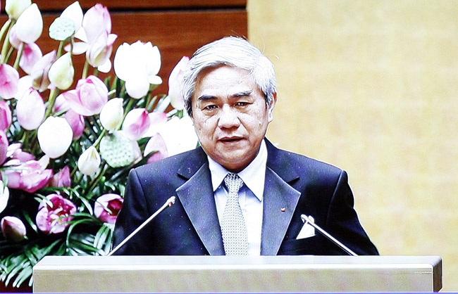 Bộ trưởng KH-CN nhận trách nhiệm vì 10 năm chưa làm được gì nhiều... (Ảnh: Việt Hưng)