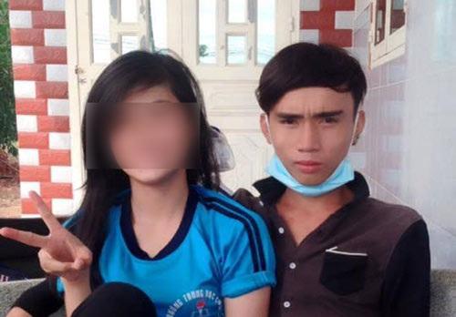 Hình ảnh của nữ sinh T. và bạn trai.