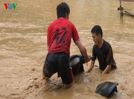 Cận cảnh Sơn La tan hoang do mưa lũ kinh hoàng