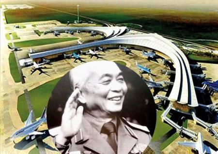 Đề xuất đổi tên Cảng Hàng không quốc tế Long Thành mang tên Đại tướng Võ Nguyên Giáp