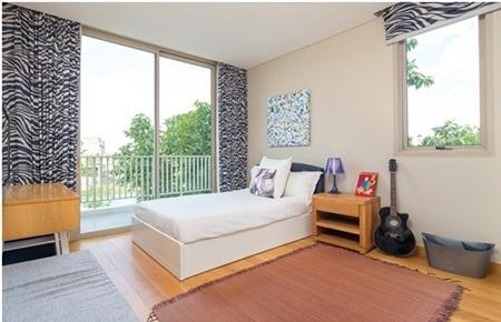 Phòng ngủ trong biệt thự Đại Phước Lotus