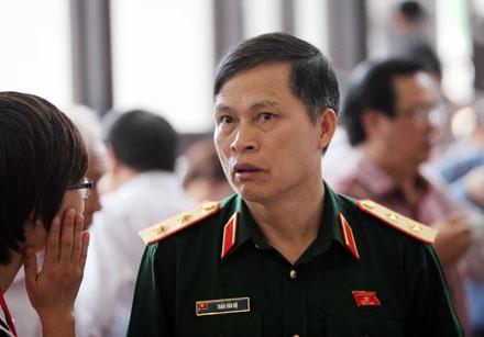 Trung tướng Trần Văn Độ hiện là Phó Chánh án TAND tối cao, Chánh án TA quân sự TƯ (ảnh: Việ Hưng).
