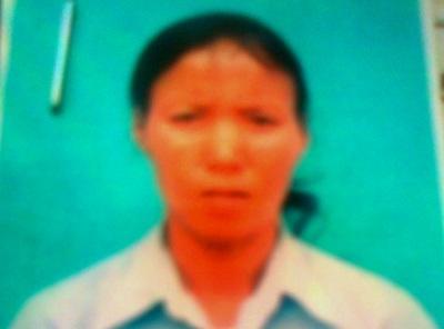 Đối tượng truy nã Nguyễn Thị Lan. Ảnh T.G