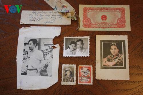 Những hình ảnh kỷ vật của người lính Việt Nam: