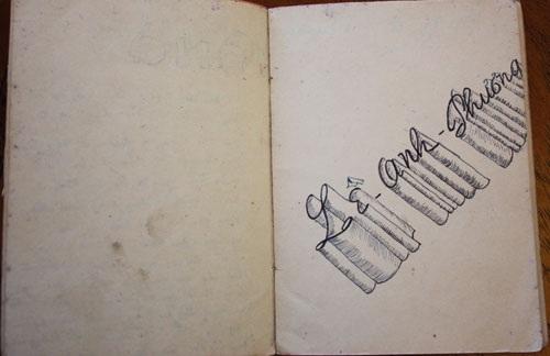 Một trang trong cuốn sổ tay