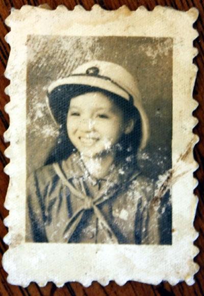 Một tấm ảnh tìm thấy trong ba lô