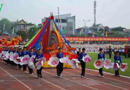 Lễ diễu binh mừng chiến thắng Điện Biên