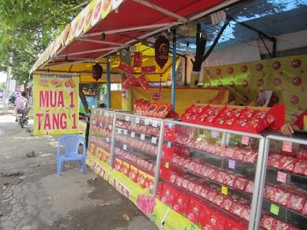 Cửa hàng trên đường Nơ Trang Long, quận Bình Thạnh