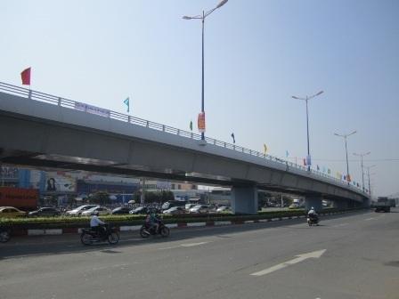 Cầu vượt Thủ Đức đã chính thức thông xe