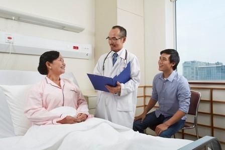 Một ca thăm khám của bác sĩBệnh viện FV.