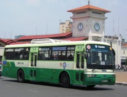TPHCM sắp cho quảng cáo trên xe buýt