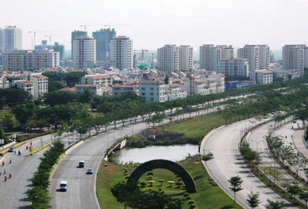 Con đường này biến cả vùng đồng ruộng thành phố thị sầm uất