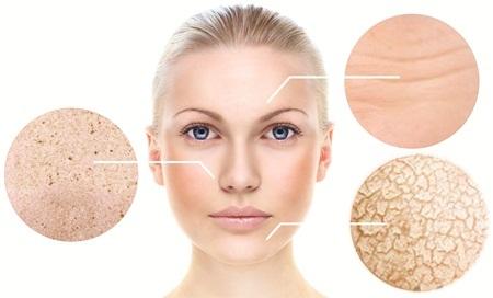 Theo thời gian, làn da phụ nữ dần xuất hiện sạm, khô, nhăn