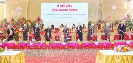 Chủ đầu tư HBI khởi công dự án Imperia Garden