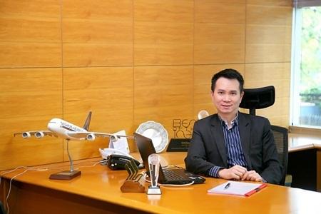 Ông Melvin Ng, Tổng giám đốc Singapore Airlines tại Việt Nam