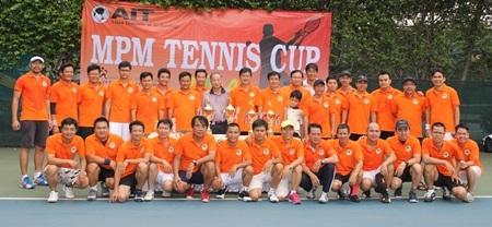 Giao lưu tennis gặp mặt hàng năm của câu lạc bộ cựu sinh viên MPM