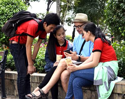 """Để học viên hiểu rõ hơn phương pháp, Action English tạo ra chương trình """""""