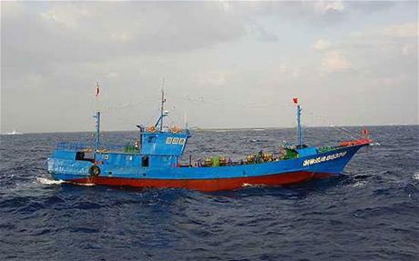 Một tàu cá Trung Quốc. (Ảnh minh họa:
