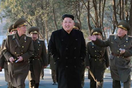 Nhà lãnh đạo Triều Tiên Kim Jong-un (Ảnh: