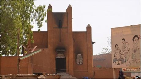 45 nhà thờ đã bị đốt cháy trong những ngày qua tại Nigeria. (Ảnh: