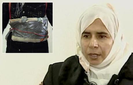 Sajida Mubarak Atrous al-Rishawi, kẻ đã đánh bom tự sát không thành tại thủ đô Jordan (Nguồn: