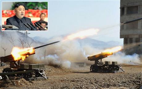 Báo Hàn Quốc nói Triều Tiên đã tiến hành hơn 10 cuộc tập trận trong năm ngoái. (Ảnh: