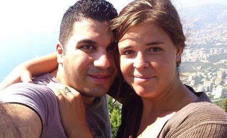 Hình ảnh hạnh phúc của cặp đôi Kayla và Omar trước khi xảy ra biến cố. (Ảnh: