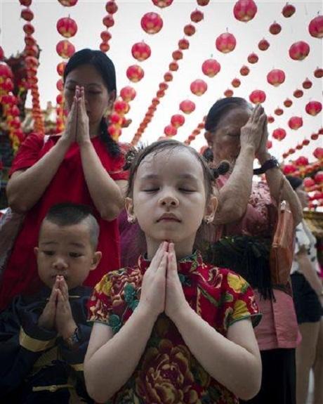 Trong những ngày đầu tiên của năm mới Ất Mùi, nhiều gia đình tại
