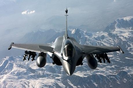 Pháp ngày 16/2 ký hợp đồng bán 24 chiến đấu cơ Rafale cho Ai Cập. (Ảnh: