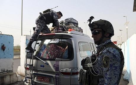Các binh sĩ Iraq (Ảnh: