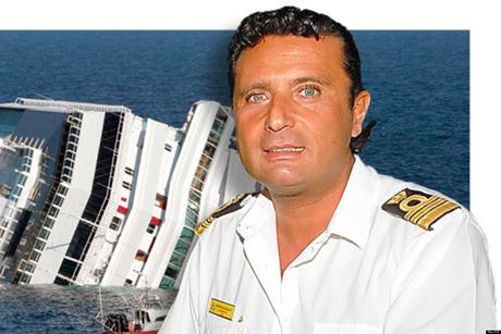 Thuyền trưởng Francesco Schettino. (Ảnh: