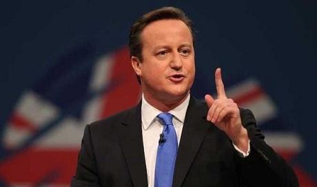 Thủ tướng Anh David Cameron. (Ảnh: