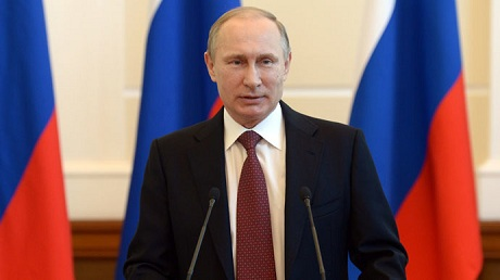 Tổng thống Nga Vladimir Putin. (Ảnh: