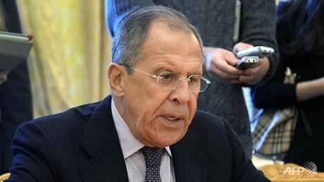 Ngoại trưởng Nga Sergei Lavrov: P