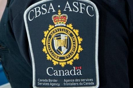 Phù hiệu của Cơ quan biên phòng Canada (CBSA). (Ảnh: